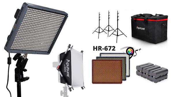LED lamper – 3 stk.