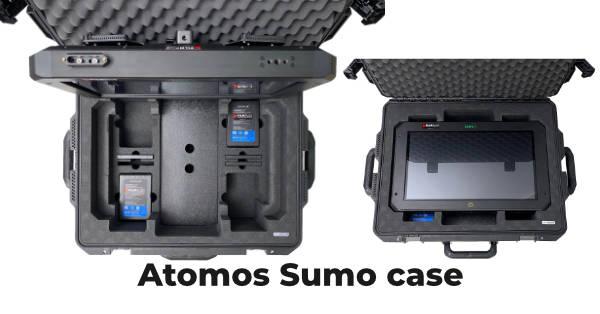 Custom Peli Storm suitcase for Atomos Sumo from Linde+Larsen