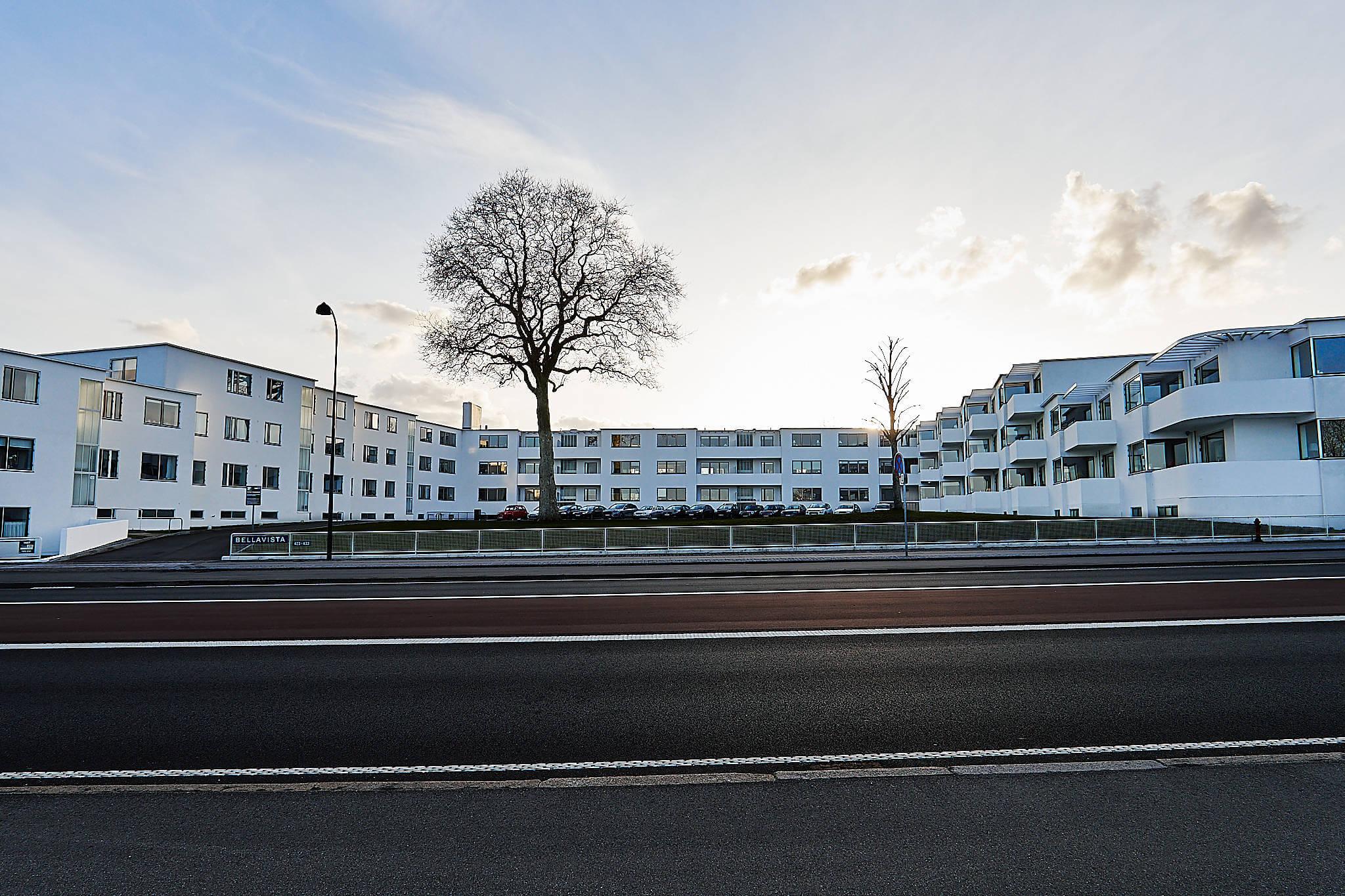 Bella Vista by Arne Jacobsen, Klampenborg, Denmark